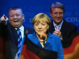 Đảng của bà Merkel chiến thắng áp đảo trong tổng tuyển cử