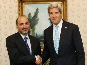 Các thủ lĩnh phe đối lập Syria nhóm họp với Ngoại trưởng Mỹ