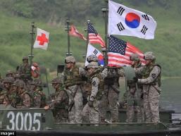 Mỹ - Hàn tập trận bắn đạn thật sát biên giới Triều Tiên