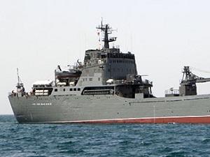 Tàu đổ bộ cỡ lớn của Nga tiến vào lãnh hải Syria