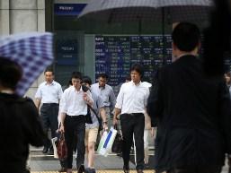 Chứng khoán châu Á tiếp tục tăng, trừ Nhật Bản