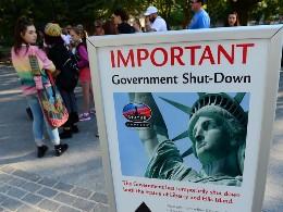 Chùm ảnh nước Mỹ trong ngày đầu tiên đóng cửa chính phủ