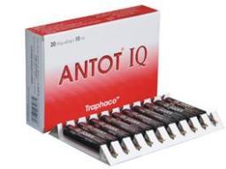 Traphaco giải trình về thực phẩm chức năng ANTOT-IQ