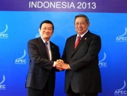 Chủ tịch nước gặp lãnh đạo các nền kinh tế APEC