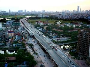 Hà Nội khởi công đường vành đai 2 qua Ngã Tư Sở-Ngã Tư Vọng