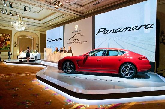 Porsche ra mắt mẫu Panamera tại Việt Nam
