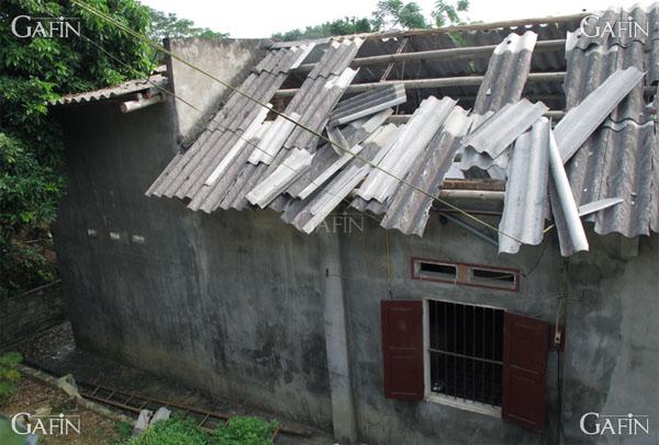 Những hình ảnh tại xã Khải Xuân sau vụ nổ