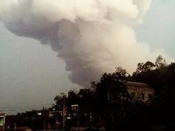 Video vụ nổ kho pháo hoa tại Phú Thọ