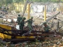 17.000 thùng pháo hoa cháy nổ tại Phú Thọ