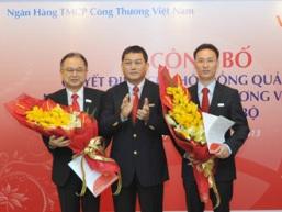 VietinBank bổ nhiệm 2 Phó Tổng giám đốc