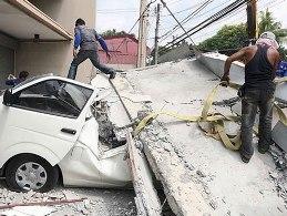 Hơn 70 người thiệt mạng sau trận động đất 7,2 độ richter ở Philippines
