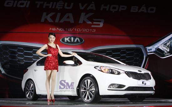 Kia K3 bán tại Việt Nam giá đắt hơn Forte 133 triệu đồng