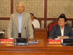 Bộ Chính trị làm việc với Thành ủy Đà Nẵng