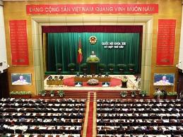 Thông cáo số 2, kỳ họp thứ 6, Quốc hội khóa XIII