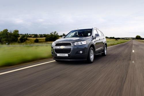 Bản nâng cấp cuối của Chevrolet Captiva ra mắt tại VMS 2013