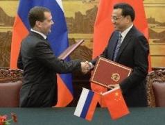Nga và Trung Quốc ký 21 văn kiện hợp tác song phương
