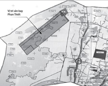Bộ trưởng Thăng duyệt quy hoạch sân bay Phan Thiết, Bình Thuận