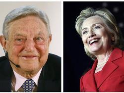 George Soros hậu thuẫn bà Clinton tranh cử tổng thống