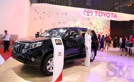 Toyota Prado 2014 bán tại Việt Nam từ tháng 12/2013