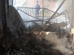 Cháy chợ Hải Hà: 3 ngày cháy thiệt hại hơn 4 tỷ đồng