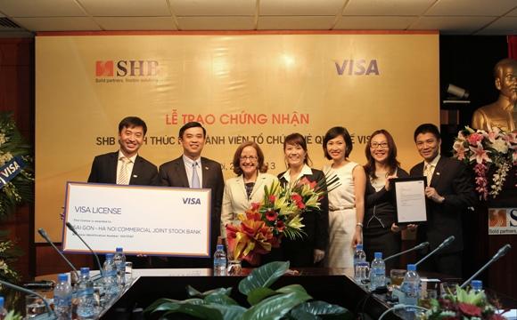SHB chính thức là thành viên của tổ chức thẻ quốc tế Visa