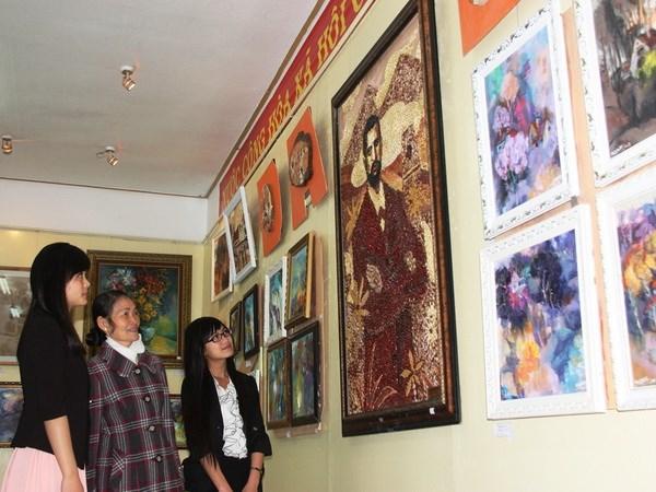 Trưng bày 100 bức tranh về các biệt thự cổ Đà Lạt