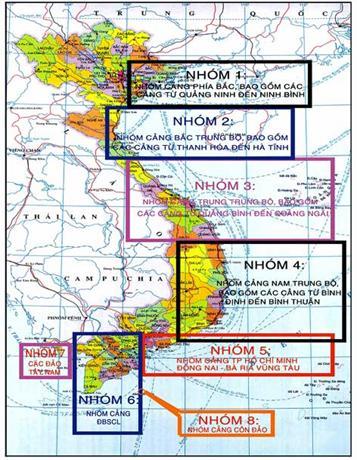 Việt Nam sẽ chỉ có 44 cảng biển