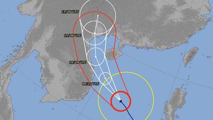 Siêu bão Haiyan đổi hướng, uy hiếp các tỉnh đồng bằng Bắc bộ