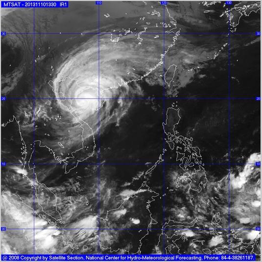 Tâm bão đi vào tỉnh  Hải Phòng – Quảng Ninh, gió giật cấp 13 ở Cô Tô, Bãi Cháy