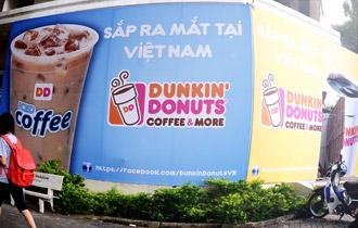 Chào Starbucks, Dunkin' Donuts đã đến