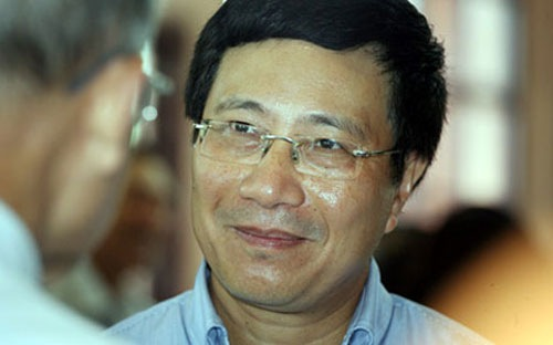 Vài nét về ứng viên Phó Thủ tướng Phạm Bình Minh