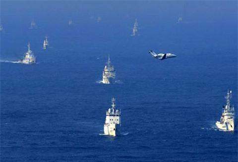 Trung-Nhật rượt đuổi nhau tại vành đai quốc phòng?