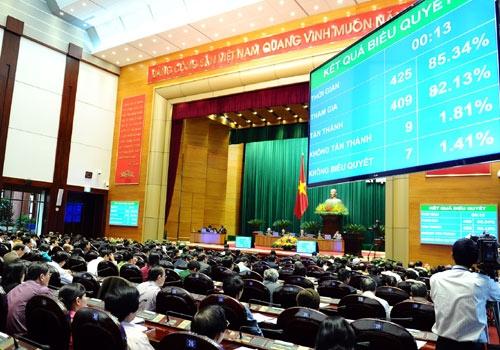 2014: Quốc hội ra nghị quyết GDP tăng 5,8%, CPI 7%