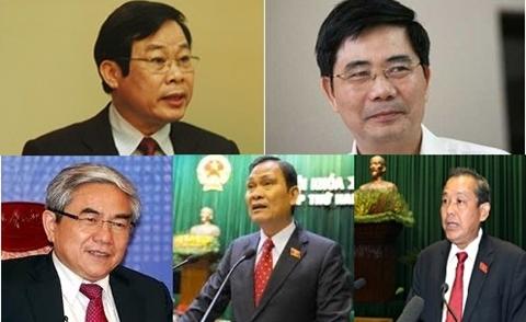 Danh sách 5 Bộ trưởng dự kiến trả lời chất vấn