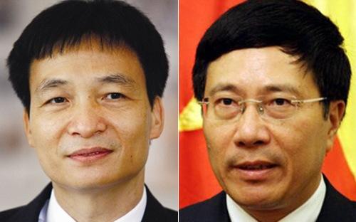 Ông Vũ Đức Đam, Phạm Bình Minh trở thành Phó Thủ tướng