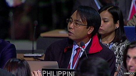 Thảm họa Philippines và bài phát biểu khiến thế giới chết lặng