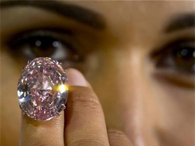 Viên kim cương hồng có giá kỷ lục 83 triệu USD