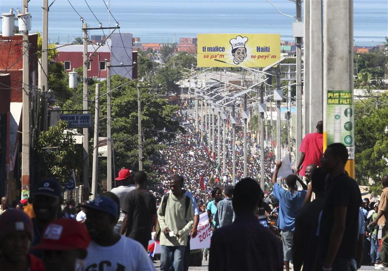 Biểu tình ở Haiti đòi tổng thống từ chức