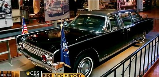 Tìm hiểu về chiếc limousine trong vụ ám sát Tổng thống Kennedy