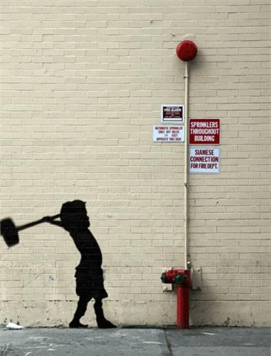 Giải mã Banksy qua hình ảnh động