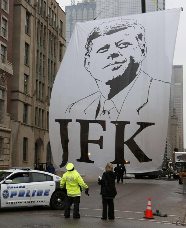 Nước Mỹ kỷ niệm 50 năm ngày Tổng thống Kennedy bị ám sát