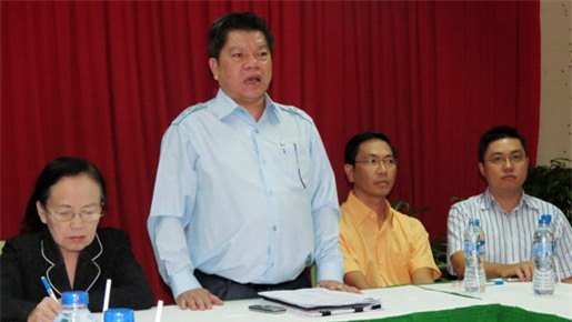 Bà Ba Sương bàn giao Sohafood cho ông Nguyễn Tấn Thanh