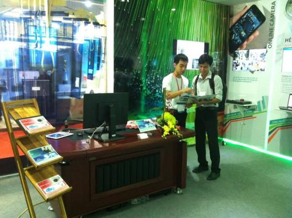 Viettel IDC tham dự Vietnam Telecomp 2013
