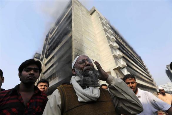 Công nhân dệt Bangladesh tiếp tục gặp thảm họa với vụ cháy lớn nhà máy dệt