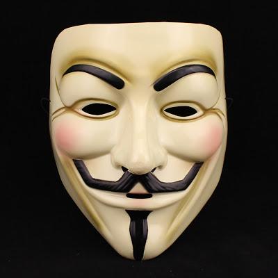 Mặt nạ Guy Fawkes - Biểu tượng của tư tưởng vô chính phủ