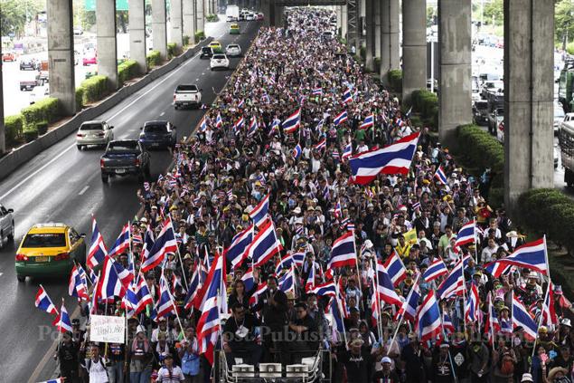 Thái Lan: Diễn biến chính trị giữa xung đột