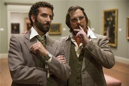 'American Hustle' là phim hay nhất 2013