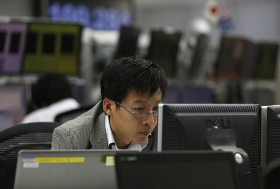 Chứng khoán châu Á tăng do xuất khẩu Trung Quốc tăng và đồng yên suy yếu