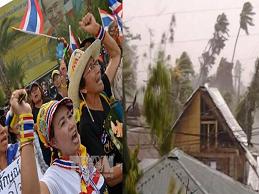 ADB hạ dự báo tăng trưởng Đông Nam Á do bão Haiyan và căng thẳng chính trị tại Thái Lan
