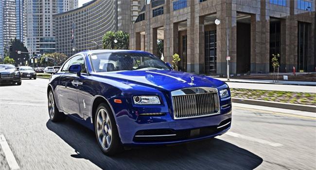 Top Gear chọn Rolls-Royce Wraith làm xe của năm 2013